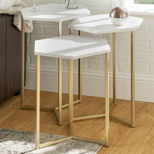 Labounty 3 Piece Nesting Tables By Mercury Row