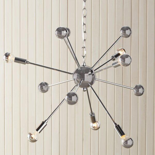 Kalman Matrix 6-Light Sputnik Chandelier by Langley Street
