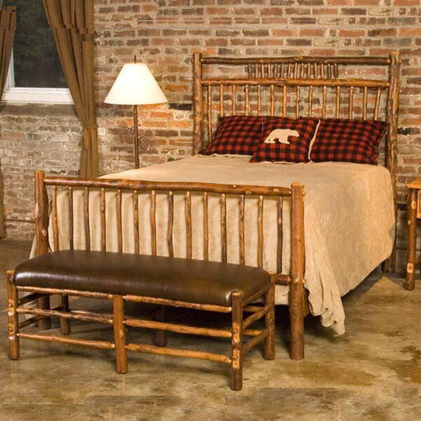 Anya Hickory Craft Standard Bed by Loon Peak