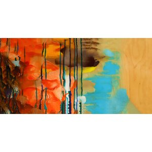 Colorful Complexity Painting Print on Wrapped Canvas by PTM Images