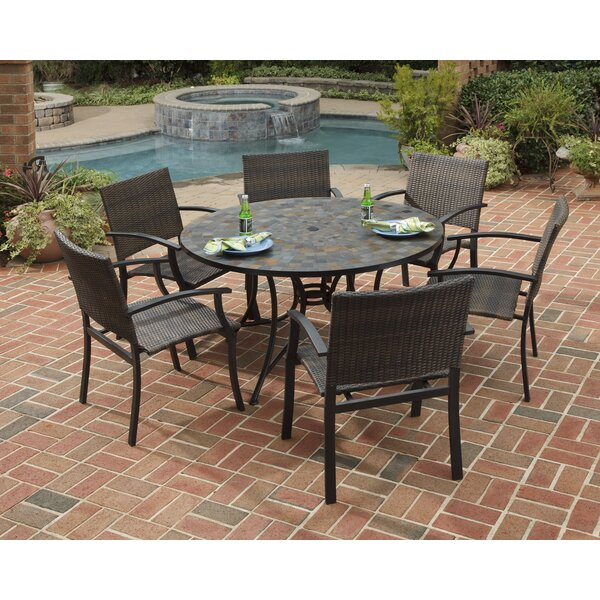 Sequoyah 7 Piece Dining Set by Loon Peak