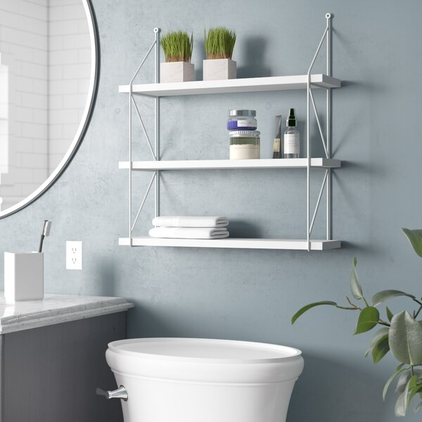 Molena 3-Tier Display Wall Shelf By Zipcode Design