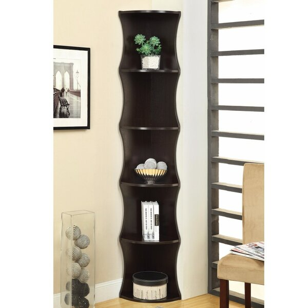 Arencibia Corner Unit Bookcase by Ebern Designs