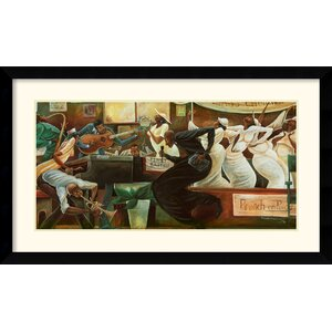 'Preach on Preacher' by Frank Morrison Framed Painting Print by Amanti Art