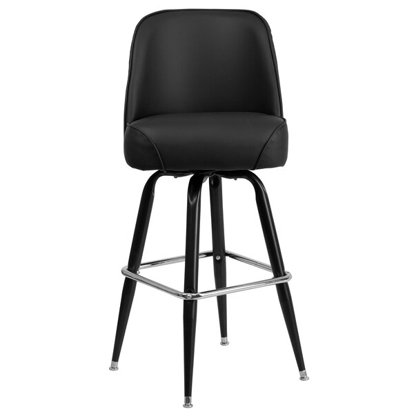 Caramont Swivel Bar Stool by Wade Logan