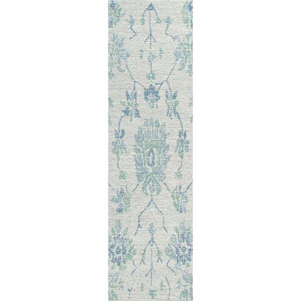 Tufted Wool Blue Rug