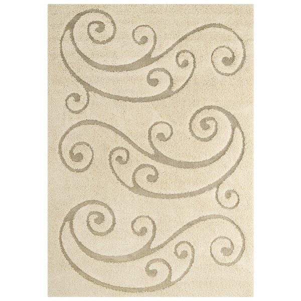 Gildea Cream Indoor Area Rug by Red Barrel Studio