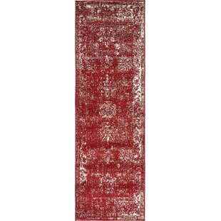 Brandt Burgundy Area Rug by Mistana