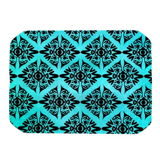Eye Symmetry Pattern Placemat by KESS InHouse