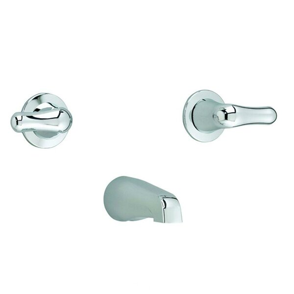 Colony Soft Double Handle Wall Mounted Tub Spout Trim by American Standard American Standard