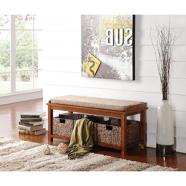 Barbeau Upholstered Storage Bench