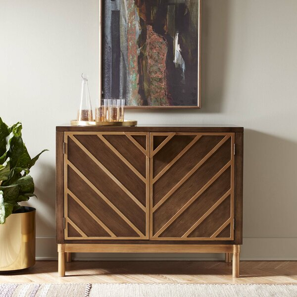 Thame Cocktail Bar Cabinet by Mercer41 Mercer41