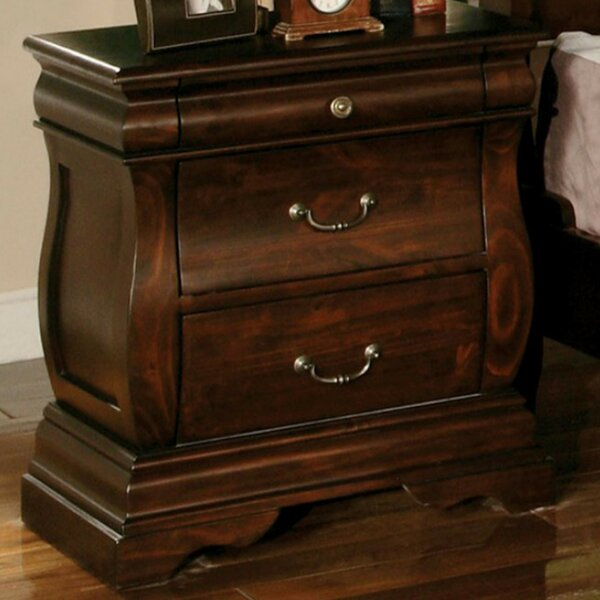Creevery 2 Drawer Nightstand by Astoria Grand