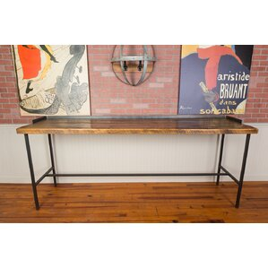 Industrial Farm Console Pub Table by Napa East Collection