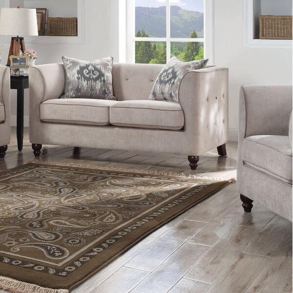 Expert Reviews Gira Loveseat by Darby Home Co by Darby Home Co
