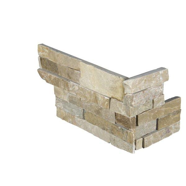 6 x 18 Quartzite Splitface Tile in Beige/Gold by MSI