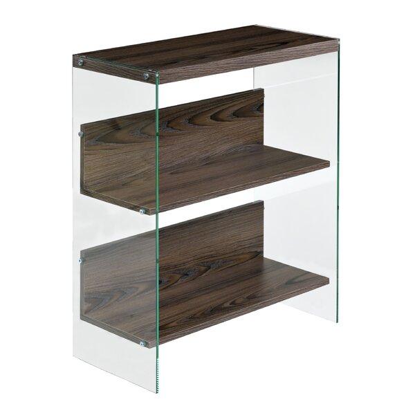 Deguzman Modern Floating Standard Bookcase By Foundry Select