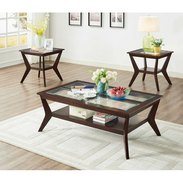 Roessler 3 Piece Coffee Table Set By Canora Grey