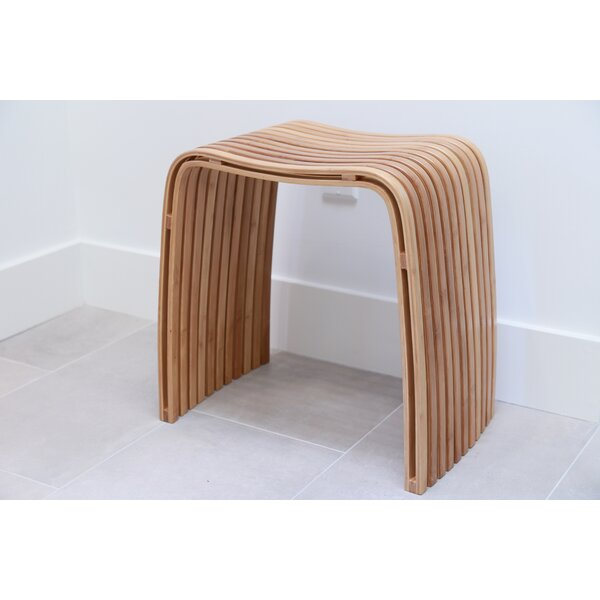 Bamboo Spa Accent Stool by In This Space