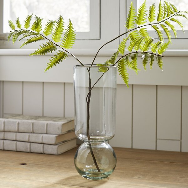Geller Recycled Glass Bulb Table Vase by Modern Rustic Interiors