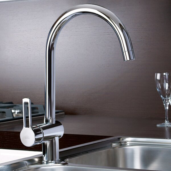 Fonte Single Handle Kitchen Faucet by WS Bath Collections WS Bath Collections