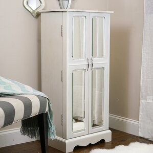 Bayliff Jewelry Armoire with Mirror by..
