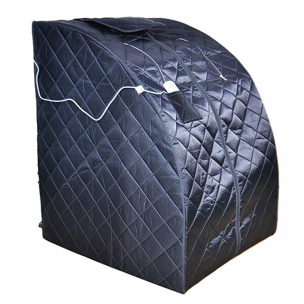 Folding 1 Person FAR Infrared Sauna by ALEKO