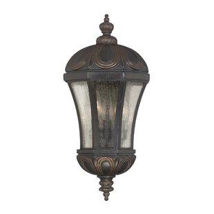 Savings Lisk 3-Light Outdoor Wall lantern By Astoria Grand