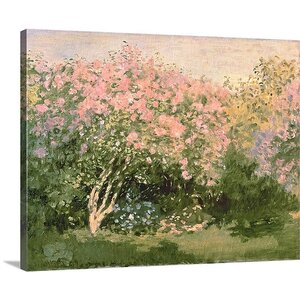 'Lilac in the Sun' Oil Painting Print on Canvas by Great Big Canvas