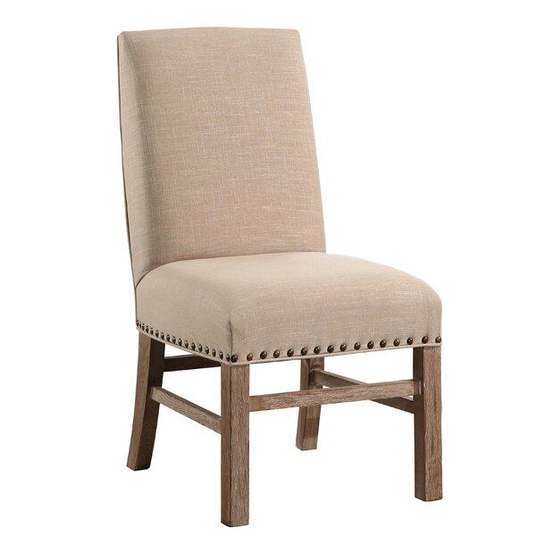 Osterhout Vintage Nailhead-Trim Parsons Chair by One Allium Way