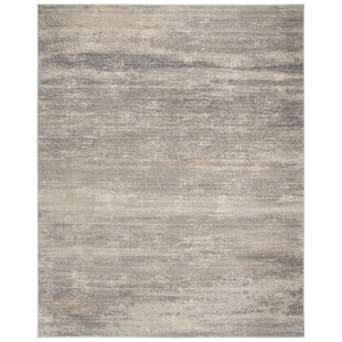 Huston Light Blue/Ivory Area Rug By Union Rustic