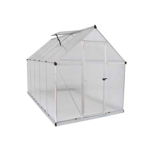 Mythos 6 Ft. W x 10 Ft. D Greenhouse by Palram