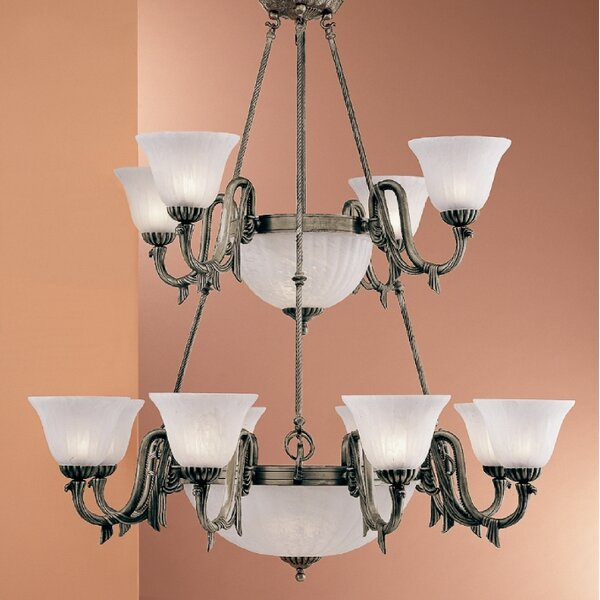 Fackler 17 - Light Shaded Tiered Chandelier by Astoria Grand Astoria Grand
