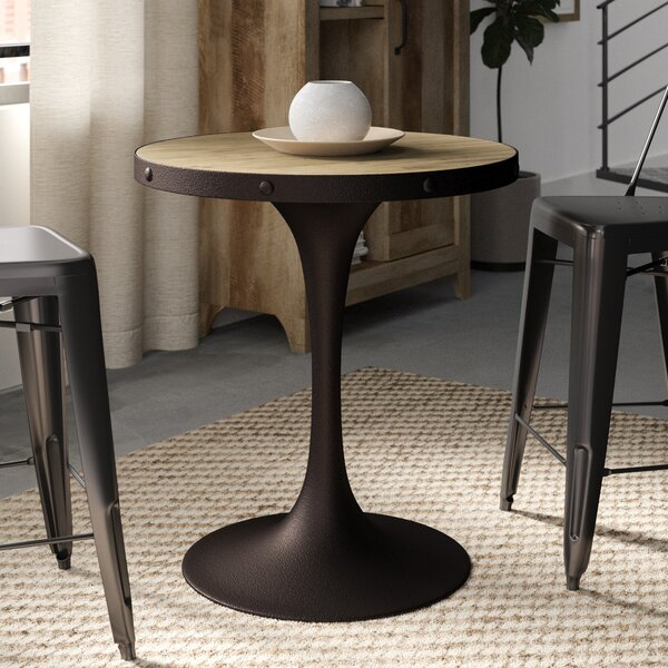 Amherst Pedestal Dining Table Greyleigh GRYL6282