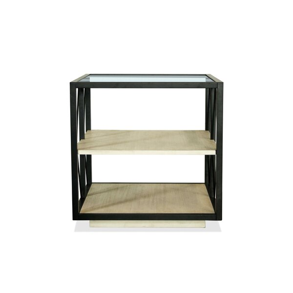 Asher Square End Table by 17 Stories