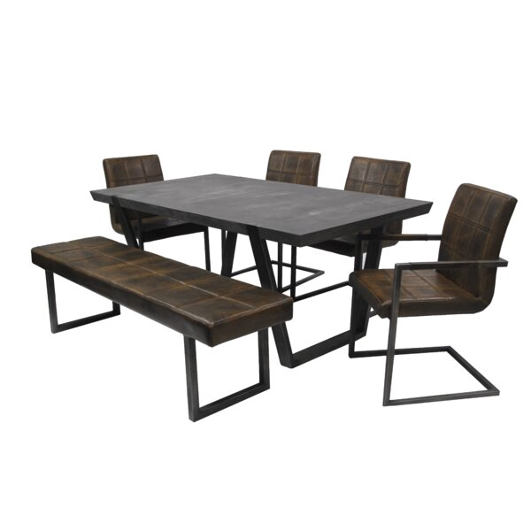 Tenbury 6 Piece Dining Set by Williston Forge