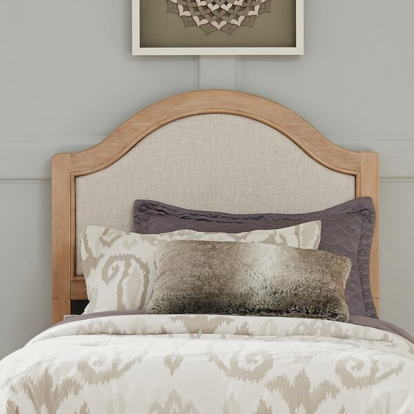 Romford Upholstered Panel Headboard by Three Posts