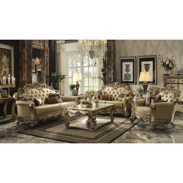 Mccarroll 3 Piece Living Room Set by Astoria Grand