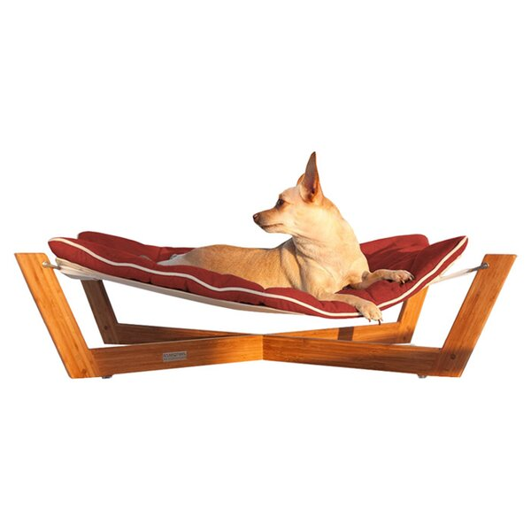 Bambu Cross Pet Hammock by Pet Lounge Studios