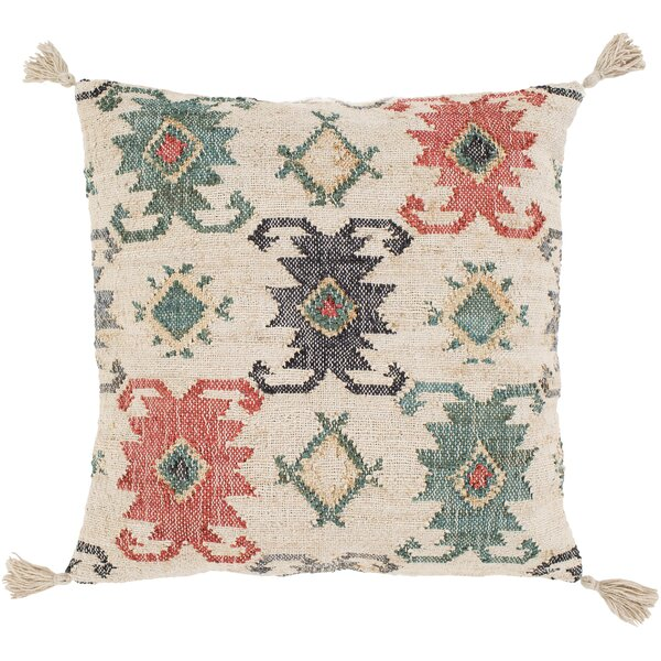 Lenora Handmade Throw Pillow by Surya