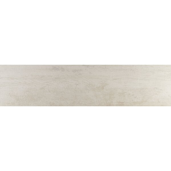 Season Wood 12 x 48 Porcelain Wood Look Tile in Snow Pine by Daltile