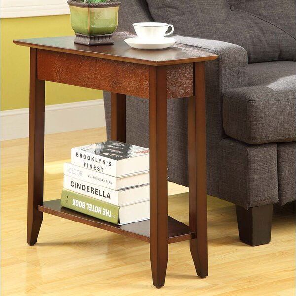 Randel Wedge End Table by Andover Mills Andover Mills