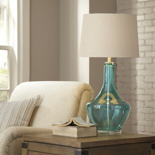 Top Brands of Gracemont Glass Table Lamp By Birch Lane™