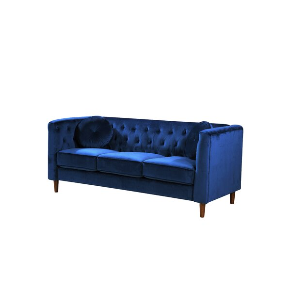 Kitts Classic Chesterfield Sofa by Everly Quinn