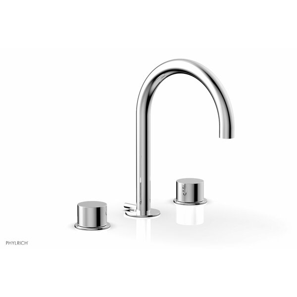 Basic II Widespread Bathroom Faucet With Drain Assembly By Phylrich