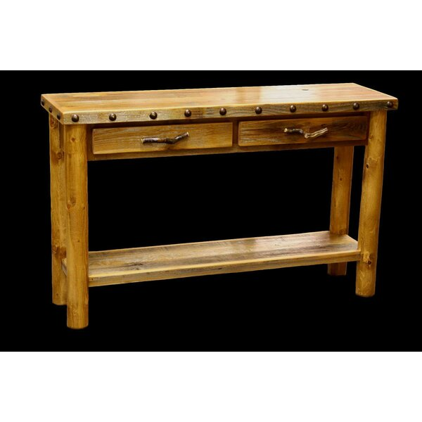 Jorgensen 2 Drawer Console Table by Loon Peak