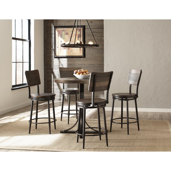 Putney 5 Piece Counter Height Breakfast Nook Dining Set By Gracie Oaks Sale
