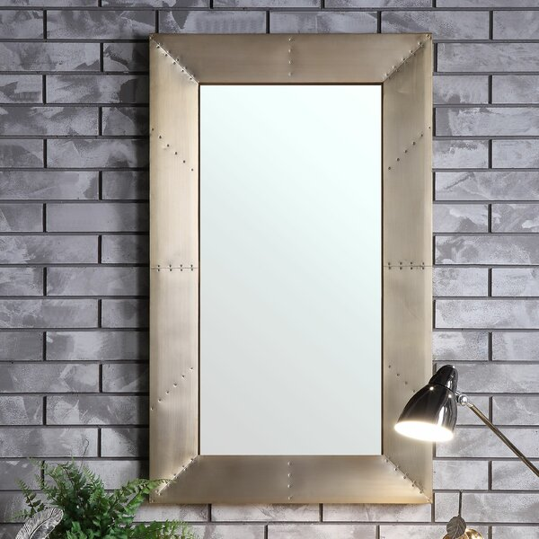 Romulus Accent Mirror by 17 Stories
