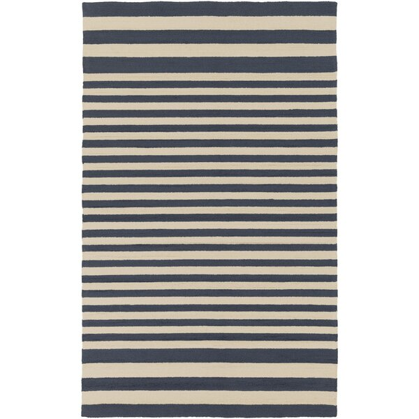 Maura Navy Indoor/Outdoor Rug by Birch Lane™