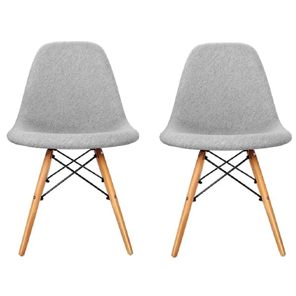 Leporis Upholstered Dining Chair (Set of 2) by Brayden Studio